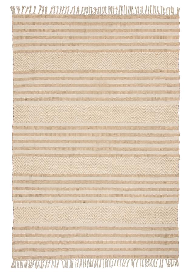 Mandani Handloom Chenille & Jute Rug - 120 x 180cm