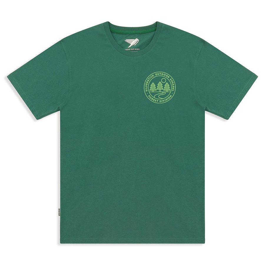 Silverstick Mens Forest Division T-Shirt - Forest Green