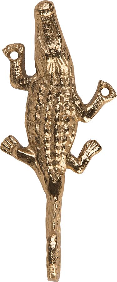 Ian Snow Gold Finished Aluminium Crocodile Hook
