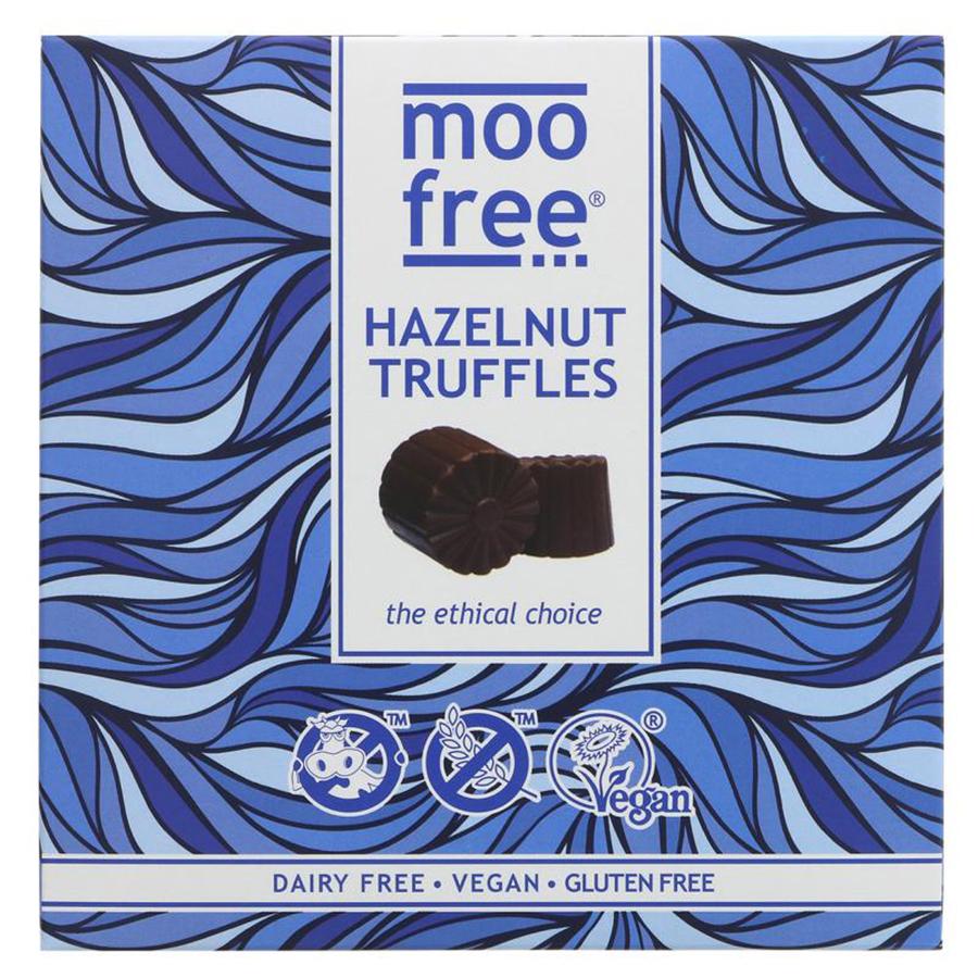 Moo Free Vegan Hazelnut Truffles - 108g