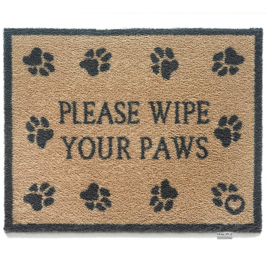 Please Wipe Your Paws Doormat - 65 x 85cm