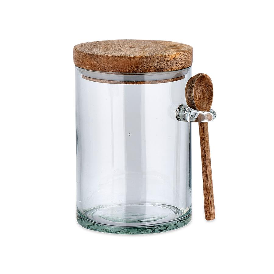 Kossi Clear Storage Jar - Small