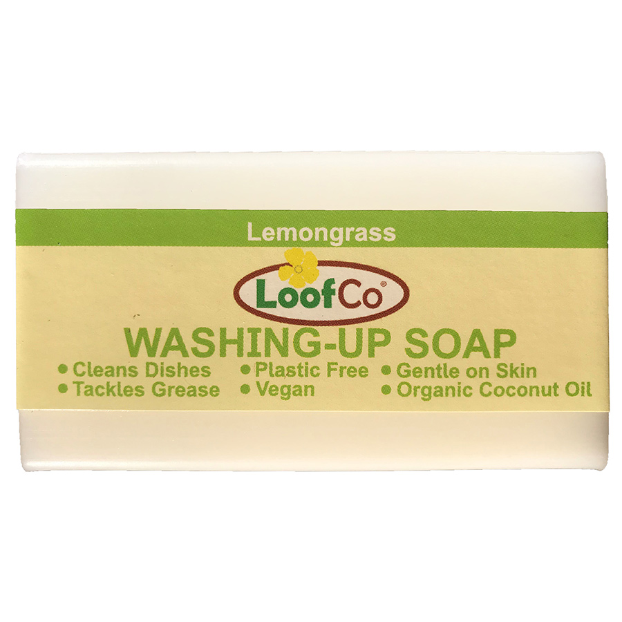 Loofco Lemongrass Washing Up Soap Bar - 100g