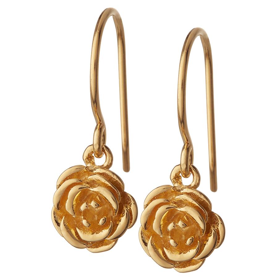 Kashka London Blossom Gold Earrings