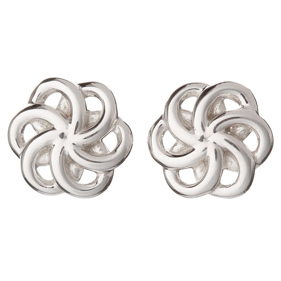 Kashka London Faith Sterling Silver Earrings