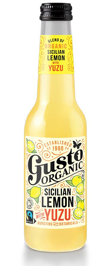 Gusto Sicilian Lemon with Fresh Yuzu - 275ml