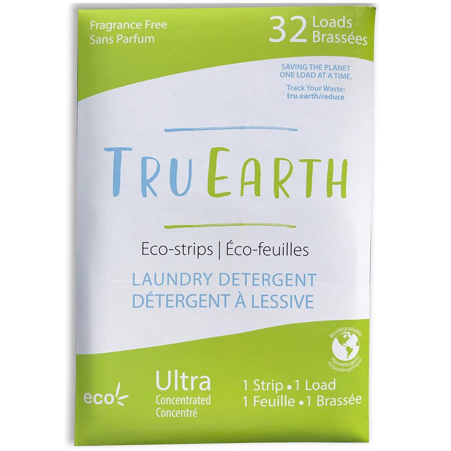 Tru Earth Laundry Eco-Strips - Fragrance Free