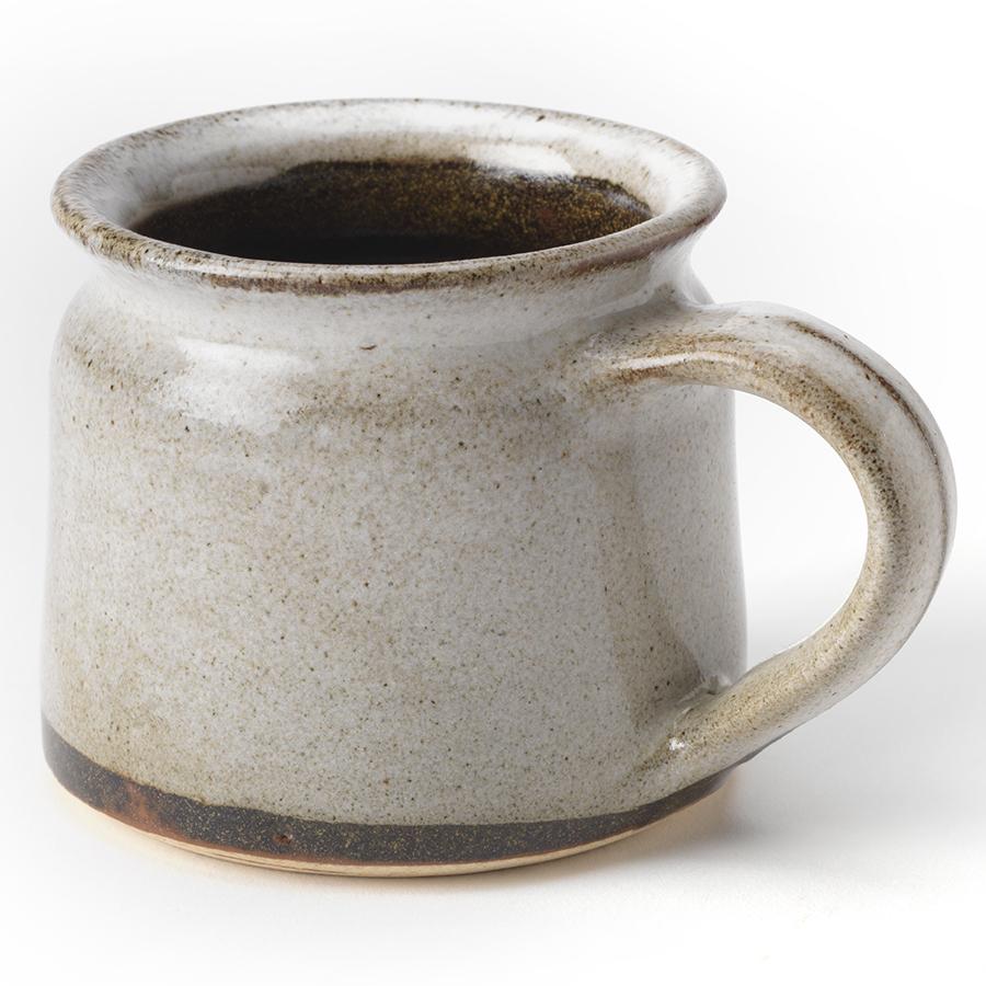 Handmade Ceramic White Speckled Mug