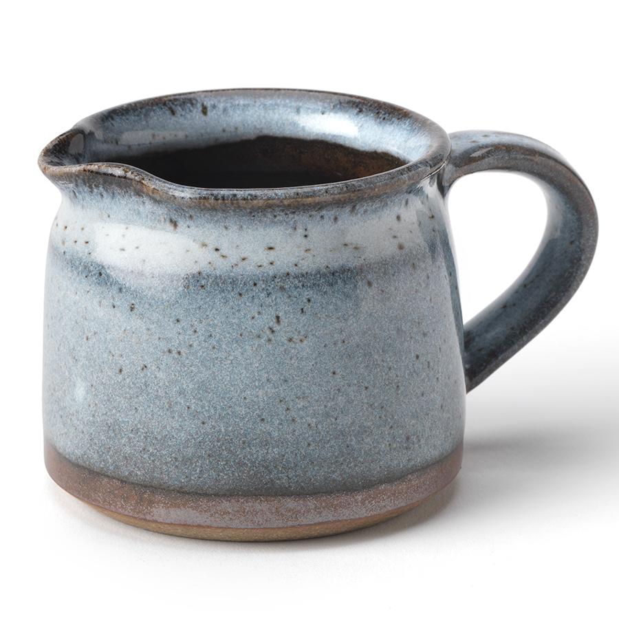 Handmade Ceramic Speckled Jug - Light Blue