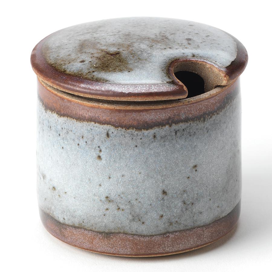 Handmade Ceramic Sugar Pot - Blue