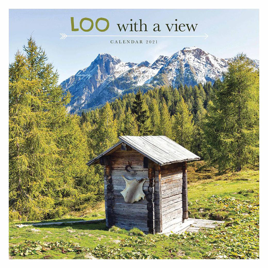 Loo with a View 2021 Wall Calendar