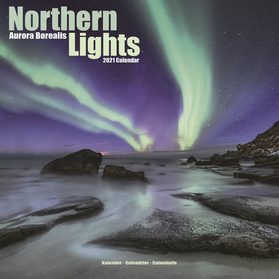 Northern Lights 2021 Wall Calendar