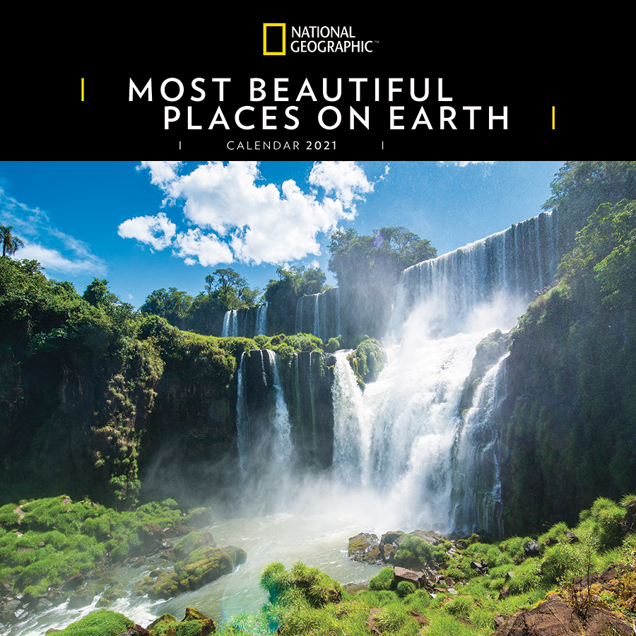 National Geographic 'Most Beautiful Places on Earth' 2021 Wall Calendar