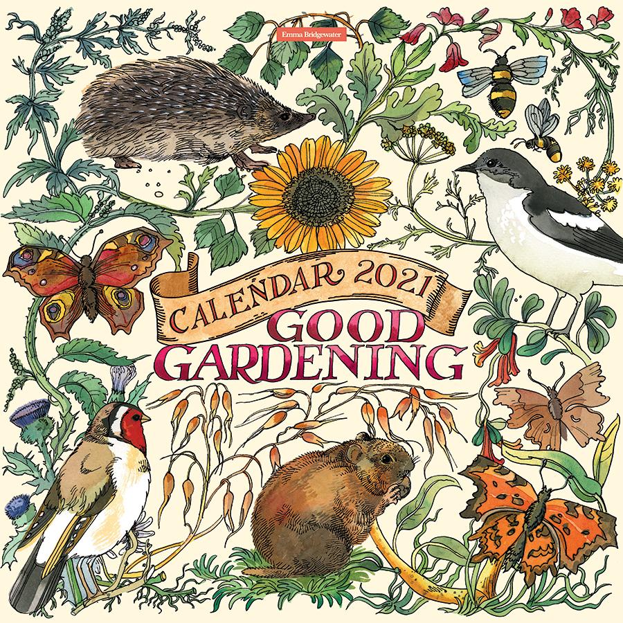 Emma Bridgewater 'Good Gardening' Wall Calendar 2021