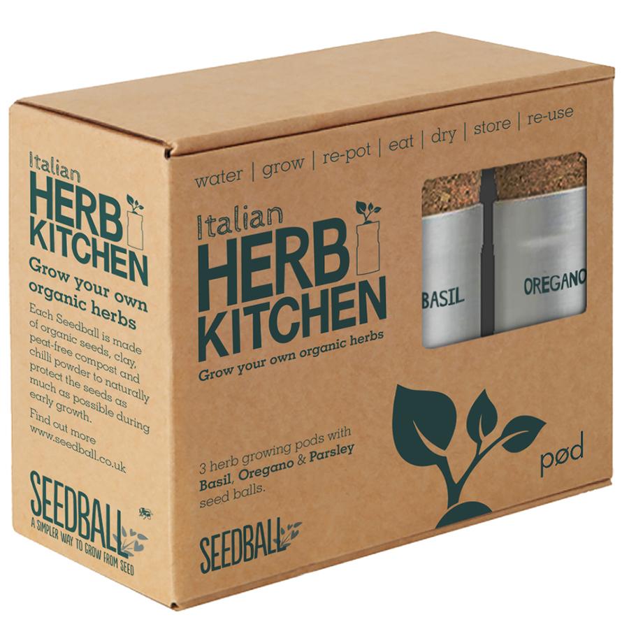 Seedball Italian Herb Kitchen