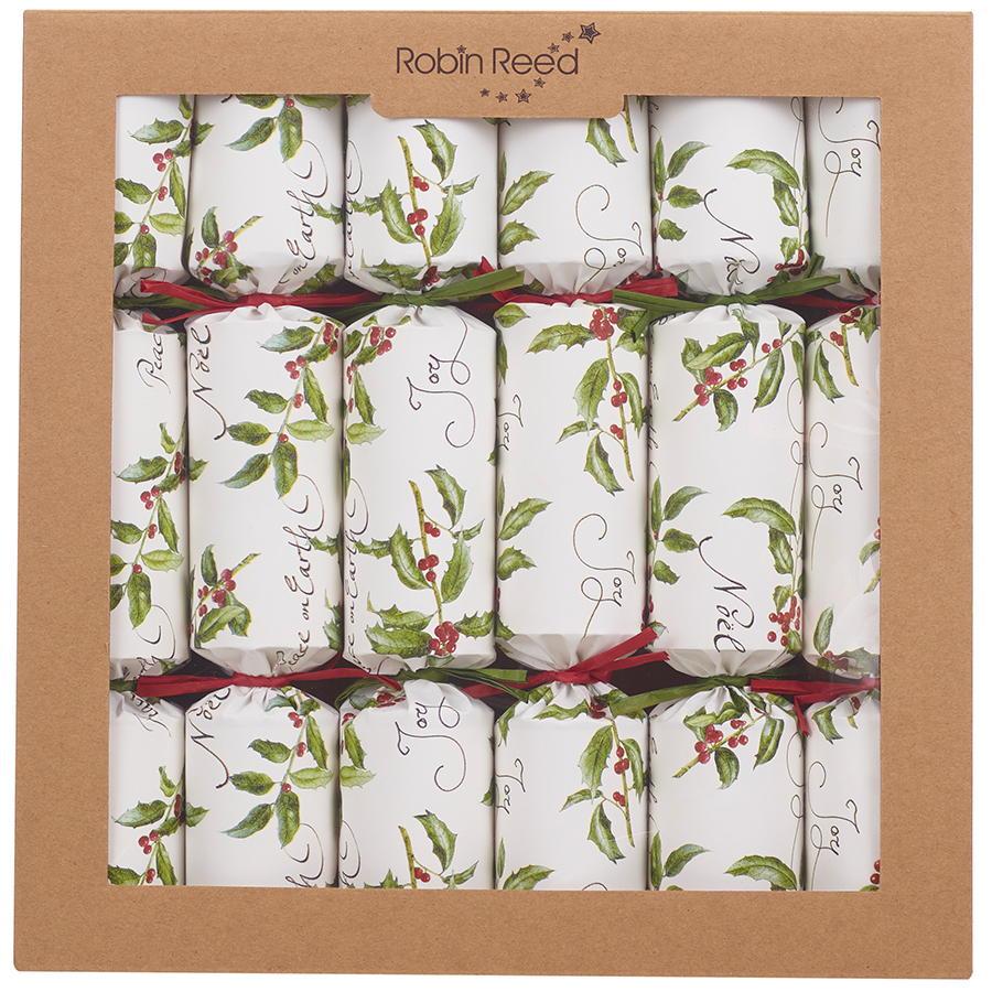 Robin Reed Fill Your Own Christmas Crackers - Pack of 6