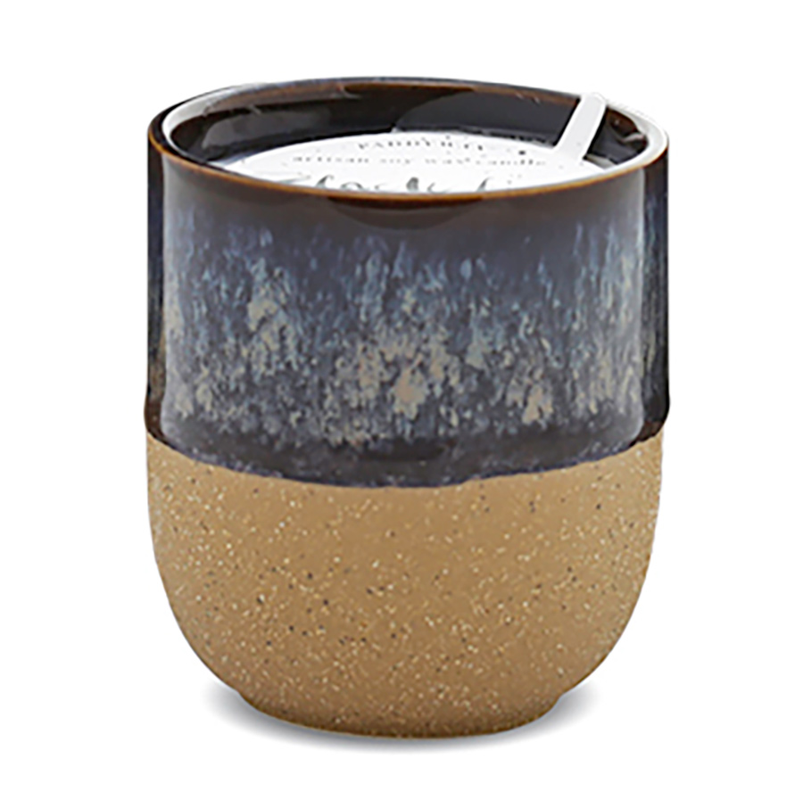 Paddywax Kin Ceramic Candle - Black Fig & Rose - 4oz