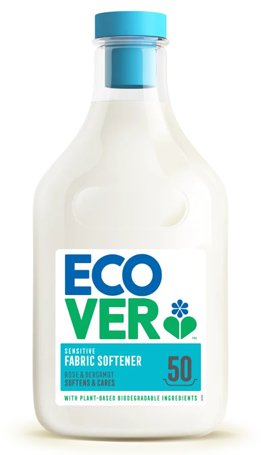 Ecover Concentrated Fabric Softener - Rose & Bergamot - 1.5L