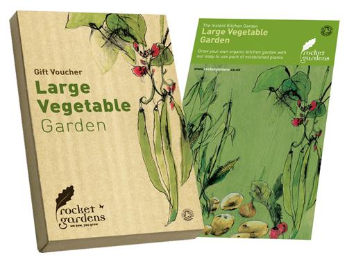 Image of Instant Large Vegetable Garden