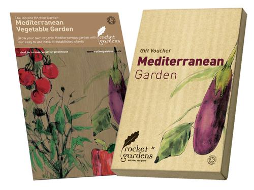 Image of Instant Mediterranean Vegetable Garden