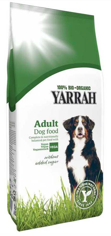 Yarrah Organic Vegetarian Dog Food - 2kg