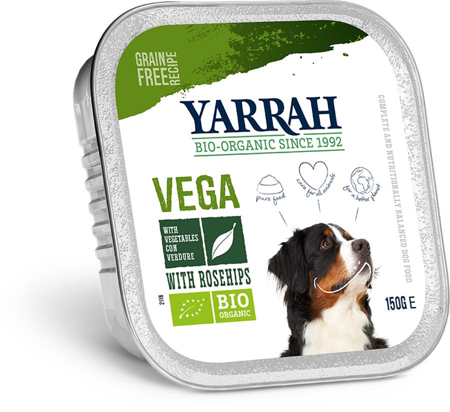 Yarrah Organic Vegetarian Dog Pate - 150g