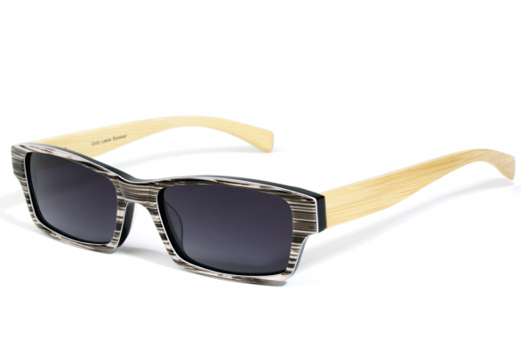 Stripes Eco-Friendly Unit T Wooden Sunglasses