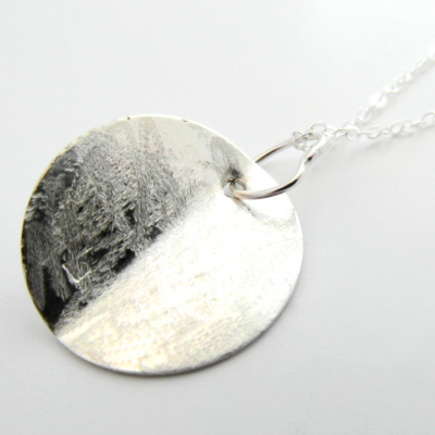 La Jewellery Recycled Manuka Silver Necklace
