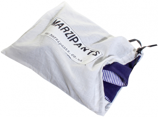 Marzipants Capri Shorts - Limited Edition Blue