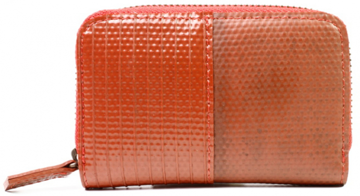 Elvis & Kresse Reclaimed Firehose Pocket Bag Organiser - Red