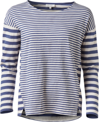 Thought Ocean Blue Stripey Tee
