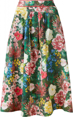 Thought Leolani Floral Midi Skirt