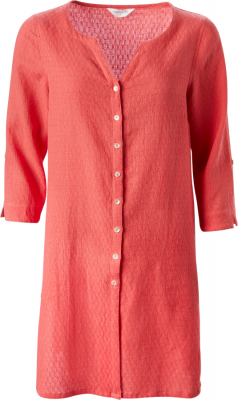 Nomads Guava Button Front Tunic