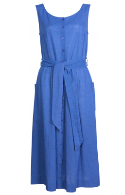 Bibico Margot Casual Dress - Jeans Blue
