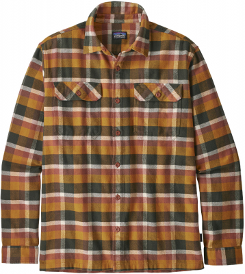 Patagonia Mens Observer Fjord Flannel Shirt - Wren Gold