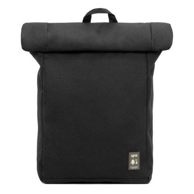 Lefrik Black Roll Backpack