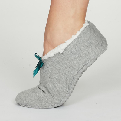 Thought Grey Marl Rilke Slippers