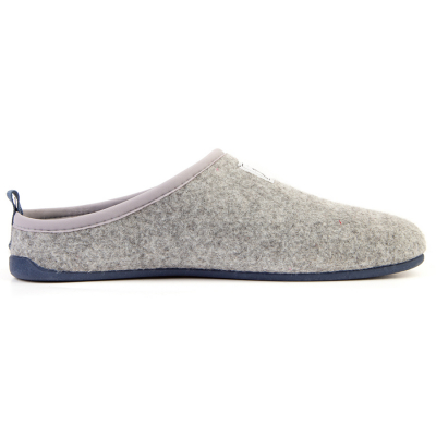 Mercredy Mens Slippers - Grey & Blue