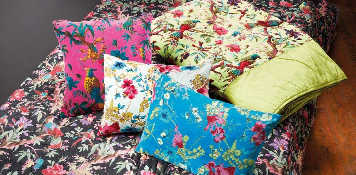 Floral Furnishings - Add detail and colour to your home