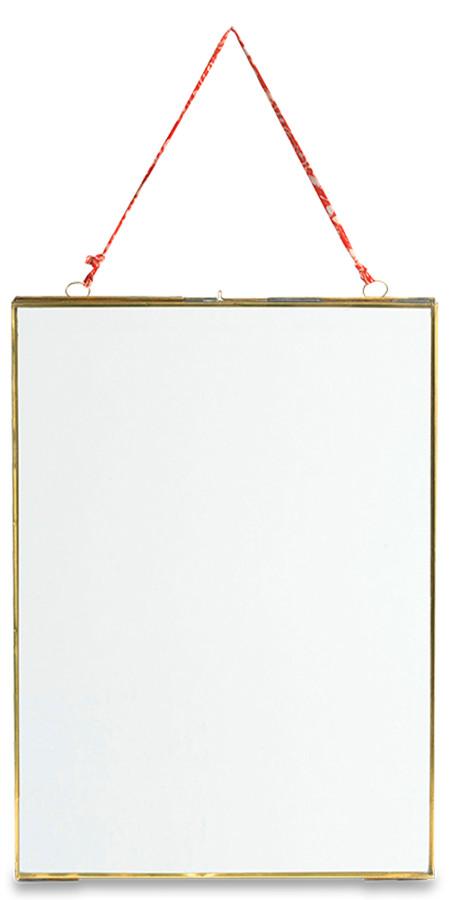 Image of Kiko Glass Brass Frame - 5x7 - Portrait