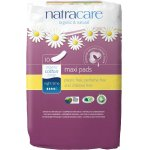 Natracare Organic Cotton Maxi Pads - Night Time - Pack of 10