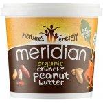 Meridian Organic No Salt Crunchy Peanut Butter 1kg
