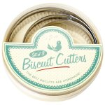 Traditional Design set of 3 Round Biscuit Cutter