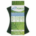 EcoForce Recycled Scourers - Heavy Duty 3pk