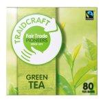 Traidcraft Fair Trade Green Teabags 80 Bags