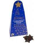 Divine Fairtrade 70% Dark Chocolate Christmas Stars 100g