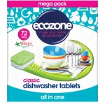 Ecozone Dishwasher Tablets Classic - Pack of 72