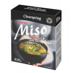 Clearspring Organic Miso Instant Soup with Sea Vegetables 4 X 10g