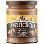 Case of 6 Meridian Crunchy Organic Peanut Butter - No Added Sugar 280g