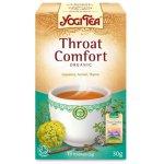 Case of 6 Yogi Throat Comfort Tea x 17 bags